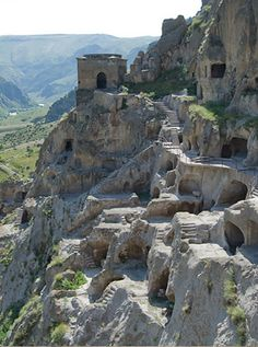 Republic of Georgia - cave city of Vardzia