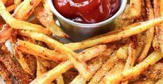 Recette de frites maison sans l'aide de la friteuse!