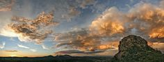 Behance :: Editing Prescott-Thumb Butte & Granite Mountain