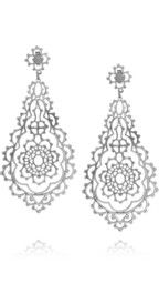 Laurent GandiniSerenissima sterling silver earrings