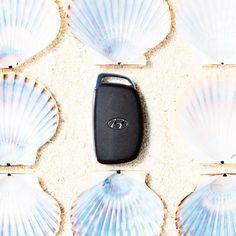 Oh! It is my day of lucky Cause I just found the pearl! - 찾았다! 하얀 조개 속 나만의 진주 - #itshines #likeapearl #greatpleasure #shells #onthebeach #drive #carsinstagram #car #AVANTE #Elantra #IONIQ #SmartKey #Hyundai