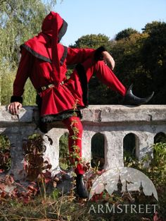 Gothic+handmade+medieval+renaissance+leather+long+shoes+boots+for+sale