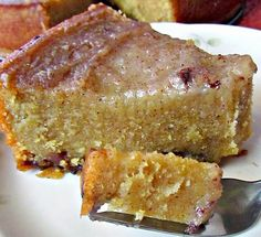 WORLD RECIPES JAMAICA: Jamaican Cornmeal Pudding Recipe