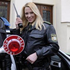 Polizistin Bayern