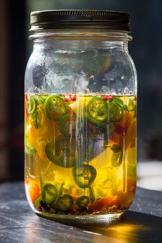 Week 50 - Infusing Vodka with Peppers