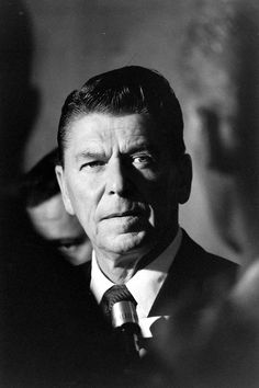 February 6, 1911: Ronald Reagan is born  In this photo by LIFE's Ralph Crane, Reagan was campaigning for CA governorship. here. (Ralph Crane—Time & Life Pictures/Getty Images)
