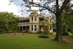 story by L HUDSON. Photograph of the Belltrees Country House in the Hunter Valley. saved for travel. Old Houses, Homesteading, Castle, England, Mansions, Country, House Styles, World, Building