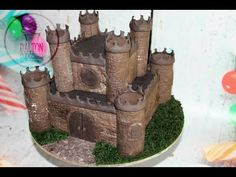How to make castle cake! - YouTube
