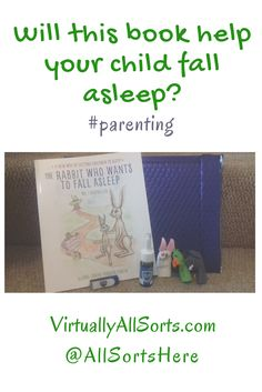 Will this book help your child fall to sleep?  Read my review of a book with a clever concept...