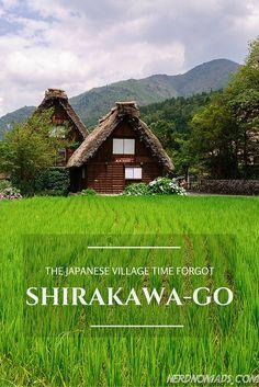 The Japanese Village Time Forgot - Shirakawa-go. It is on Unesco`s World Heritage list.