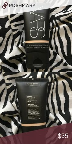 NARS radiant tinted moisturizer Lightest shade terre-neuve used only three times NARS Makeup Foundation