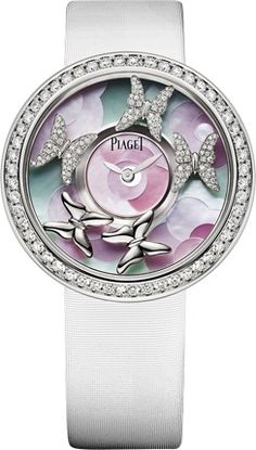 White gold Diamond Watch Piaget Luxury Watch