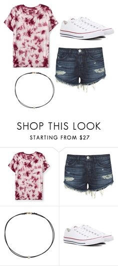 """School"" by e-race on Polyvore featuring Aéropostale, 3x1, Dogeared and Converse"