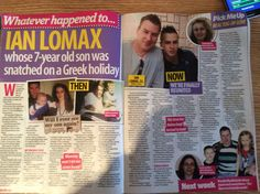 The abduction of Christopher lomax Greece Holiday, 7 Year Olds, Next Week, Betrayal, True Stories, Cuttings, Shit Happens, Family Holiday, My Love