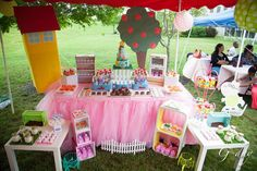 Peppa pig themed party Birthday Party Ideas | Photo 1 of 39 | Catch My Party