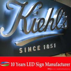 3d illuminated signage salon - Google Search