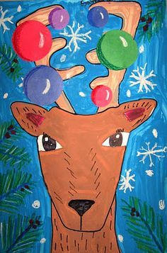 elementary winter art projects - Google Search