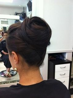 High bun- stunning