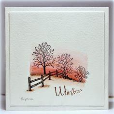 About Xmas Cards Handmade Winter Scenes 45 Fall Cards, Winter Cards, Xmas Cards, Watercolor Christmas Cards, Watercolor Cards, Watercolor Background, Cardio Cards, Winter Szenen, Winter Trees