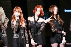 Nine Muses Hyemi, Sungah & Erin