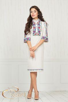 Сукня з льону. Дизайн-студія Оксани Полонець