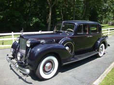 1938 V-12 Packard one of only 27 ever made you have to see this car it is really cool