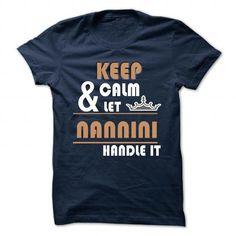 nice its t shirt name NANNINI