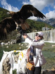 Entry from a Futurestep colleague in China: While travelling in Li Jiang, China, during the financial crisis, I was very down and took a break to re-motivate myself. The eagle spread its wings in my arms! I was nervous and that moment was a miracle. I was excited, as it was my first time being so close to an eagle. I hope my work and life will take off like an eagle in flight. When life gets tough, when you're full of doubt, remember we still have hope, spread your wings and try to fly…