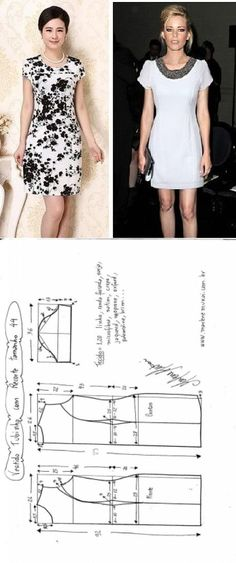 Amazing Sewing Patterns Clone Your Clothes Ideas. Enchanting Sewing Patterns Clone Your Clothes Ideas. Sewing Clothes Women, Diy Clothing, Clothing Patterns, Dress Patterns, Coat Patterns, Sewing Dress, Diy Dress, Sewing Coat, Fashion Sewing