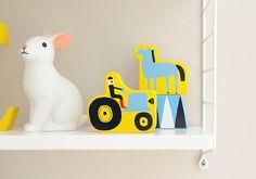 Kids room - String shelf - Pinjacolada