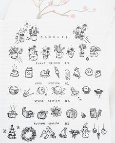 Imagen de doodle and bullet journal