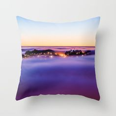 Purple Haze Throw Pillow by untitledgallery Down Pillows, Throw Pillows, Purple Haze, Poplin Fabric, Pillow Inserts, Hand Sewing, It Is Finished, Zipper, Stylish