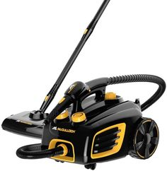 McCulloch Multi-Purpose Canister Steam Cleaner for Cleaning and Mopping Floors #McCulloch #Clean #Cleaning #Steam #SteamCleaning #Mop #mopping