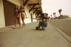 Sidewalk Surfer, Huntington Beach