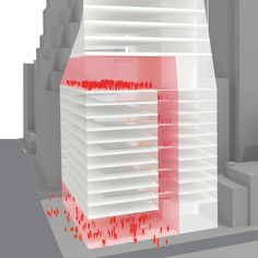 7   Rejected: OMA's Grand Plan For A Twisting Skyscraper   Co.Design: business + innovation + design