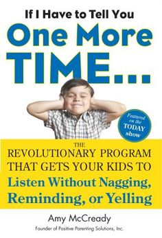 If I Have to Tell You One More Time… Have you ever said that (or wanted to)? Amy McCready from Positive Parenting Solutions has an awesome new paperback book with many effective tools for bringing out positive behaviors (compatible with gentle discipline and Montessori principles). You can find a review and giveaway of 3 copies of the book in this post. (Giveaway ends 9/27, 10:01pm MST.) If you purchase the book, you can use a link to get a free eBook (Back to School Survival Guide).