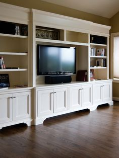 Traditional Family Room Media Cabinet Design, Pictures, Remodel, Decor and Ideas