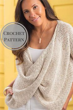 Crisscross Mesh Top Crochet Pattern - Sweater - For Beginners- Pattern - Clothing - Projects - Trendy - Stylish - Popular Style - Pattern is Available for Download After Purchase #ad