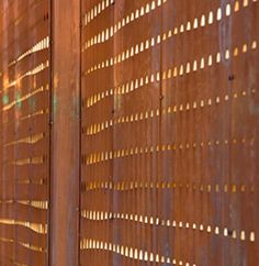 The Wyckoff Exchange by Andre Kikoski Architect: amazing metal screen facade detail - see Exteriors Commercial
