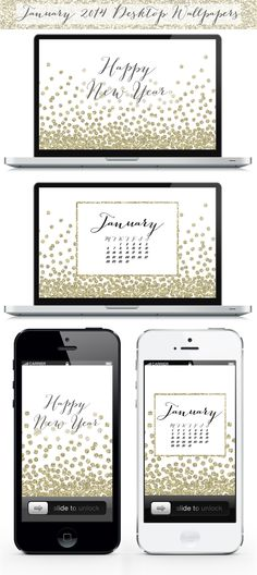 January 2014 Desktop and iPhone Wallpapers