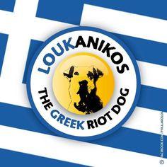 loukanikos - Google zoeken Street Dogs, Rest In Peace, Stand Up, Athens, Rebel, Police, Hero, Bullets, Cats