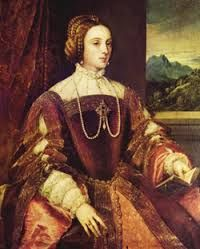 Isabella of Portugal, infanta of Portugal by birth. Wife of the Holy Roman Emperor Charles V.