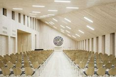 Star of the North: Community Church Knarvik Forms a Timber Beacon Against the Dramatic Backdrop of Norway - Architizer