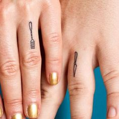 Fork tattoos