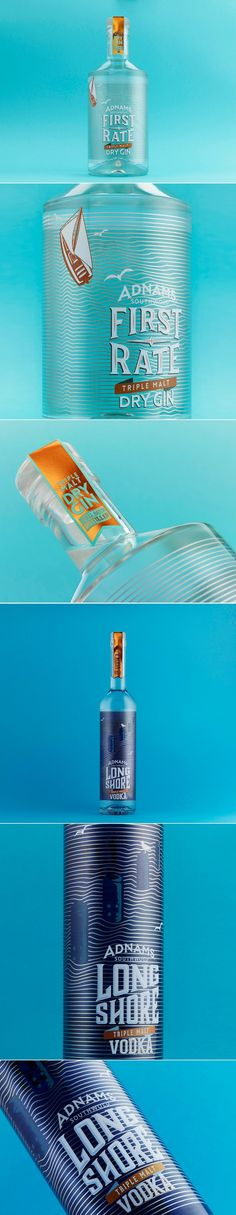 These First Rate Spirits Come in Gorgeous Bottles — The Dieline | Packaging & Branding Design & Innovation News