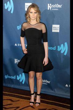 Jennifer Lawrence in David Koma