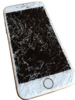 Rozbité sklo iPhone Iphone, Samsung