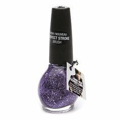 I've tried many different brands of nail polish, but OPI is the only one that I've found that doesn't chip and goes on smooth ALL the time!!  ~purple & glitter...love it!!~
