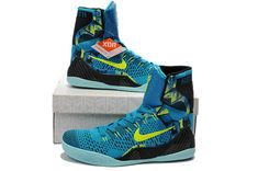 more photos 34a67 25676 Kobe 9 Elite Perspective New Turquoise Volt 630847 400 Kobe 9, Nike Kobe,  Nike