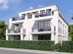 Neubau in Hamburg: 150.000 neue Wohneinheiten bis 2030 geplant - Elegantes Neubauproejkt in Groß-Flottbek: Otto-Ernst-Straße. Foto: Wullkopf & Eckelmann Immobilien